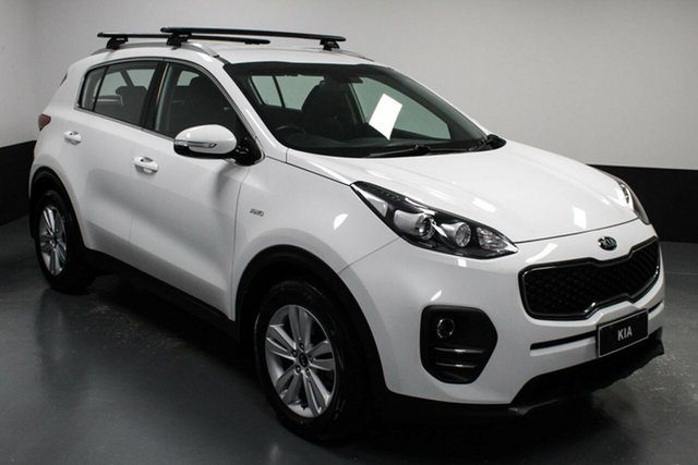 Used Kia Sportage QL MY17 Si AWD Cardiff, 2017 Kia Sportage QL MY17 Si AWD White 6 Speed Sports Automatic Wagon