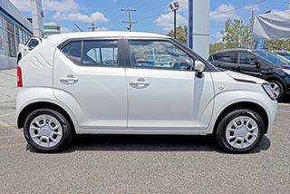 2020 Suzuki Ignis MF Series II GL White 1 Speed Constant Variable Hatchback.