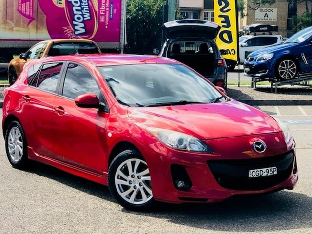 Used Mazda 3 BL10F2 Maxx Activematic Sport Liverpool, 2012 Mazda 3 BL10F2 Maxx Activematic Sport Red 5 Speed Sports Automatic Hatchback