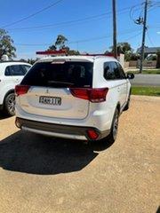 2015 Mitsubishi Outlander ZK MY16 XLS 4WD White Wagon.