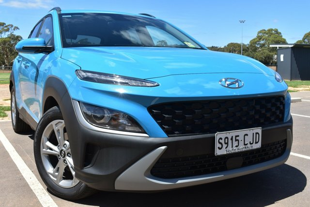 Demo Hyundai Kona Os.v4 MY21 Active 2WD St Marys, 2020 Hyundai Kona Os.v4 MY21 Active 2WD Dive in Jeju 8 Speed Constant Variable Wagon