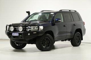 2015 Toyota Landcruiser VDJ200R MY16 GXL (4x4) Onyx Blue 6 Speed Automatic Wagon.