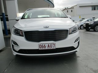 2018 Kia Carnival YP PE MY19 S White 8 Speed Automatic Wagon