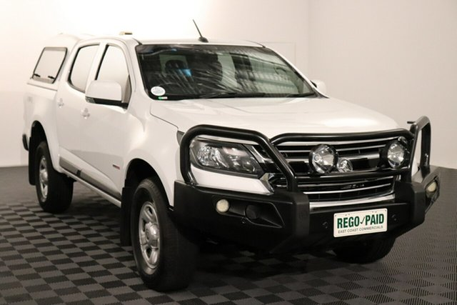Used Holden Colorado RG MY16 LS Crew Cab Acacia Ridge, 2016 Holden Colorado RG MY16 LS Crew Cab White 6 speed Automatic Utility