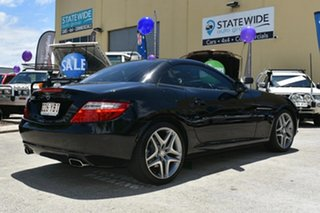 2011 Mercedes-Benz SLK200 BlueEFFICIENCY R172 200 BE Black 7 Speed Automatic G-Tronic Convertible