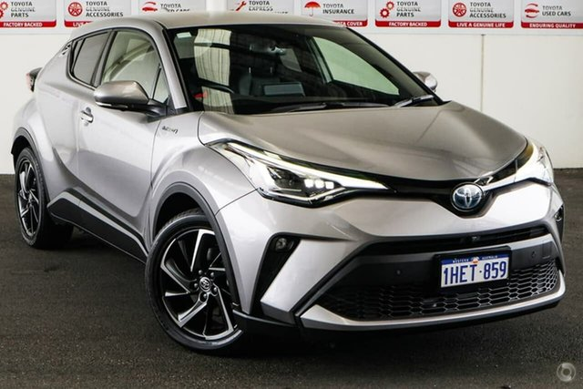 Pre-Owned Toyota C-HR ZYX10R Koba E-CVT 2WD Rockingham, 2019 Toyota C-HR ZYX10R Koba E-CVT 2WD Shadow Platinum 7 Speed Constant Variable Wagon Hybrid