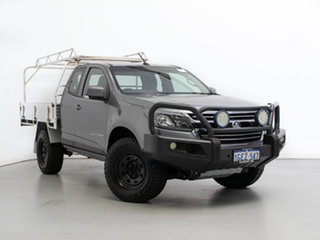 2016 Holden Colorado RG MY17 LS (4x4) Grey 6 Speed Automatic Space Cab Chassis.