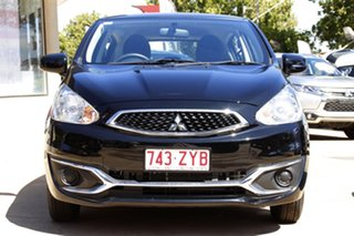 2019 Mitsubishi Mirage LA MY19 LS Black 1 Speed Constant Variable Hatchback