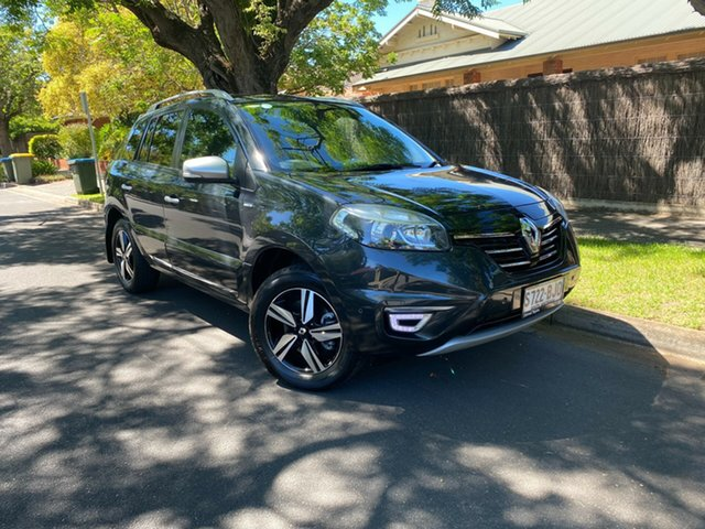 Used Renault Koleos H45 PHASE III MY15 Bose Premium Hawthorn, 2015 Renault Koleos H45 PHASE III MY15 Bose Premium Black 1 Speed Constant Variable Wagon