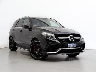 2015 Mercedes-AMG GLE63 S 166 Black 7 Speed Automatic Wagon.
