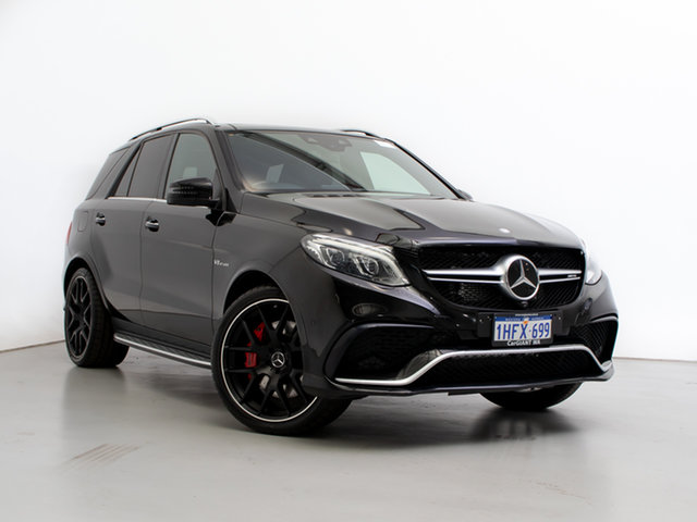 Used Mercedes-AMG GLE63 S 166 , 2015 Mercedes-AMG GLE63 S 166 Black 7 Speed Automatic Wagon