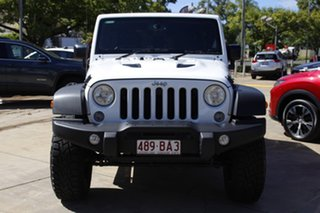 2015 Jeep Wrangler JK MY2016 Unlimited Sport White 5 Speed Automatic Softtop