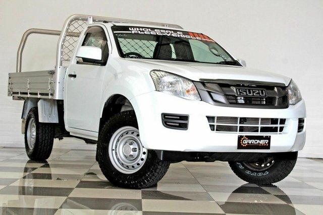 Used Isuzu D-MAX TF MY15 SX HI-Ride (4x2) Burleigh Heads, 2015 Isuzu D-MAX TF MY15 SX HI-Ride (4x2) White 5 Speed Automatic Cab Chassis