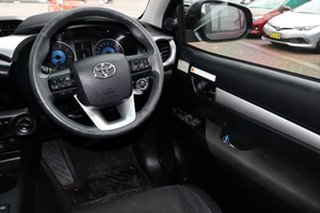 2015 Toyota Hilux GUN126R SR5 Double Cab Black 6 Speed Sports Automatic Utility