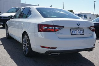2018 Skoda Superb NP MY19 206TSI Sedan DSG Moon White 6 Speed Sports Automatic Dual Clutch Liftback