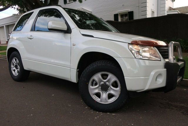Used Suzuki Grand Vitara JB MY09 Prospect, 2010 Suzuki Grand Vitara JB MY09 White 4 Speed Automatic Hardtop