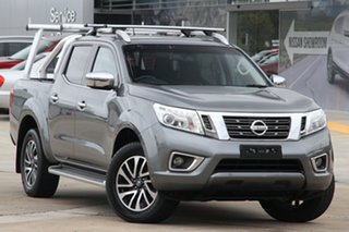 2016 Nissan Navara NP300 D23 ST-X (4x2) Grey 7 Speed Automatic Dual Cab Utility.