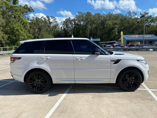 2015 Land Rover Range Rover LW Sport 3.0 TDV6 SE White 8 Speed Automatic Wagon.