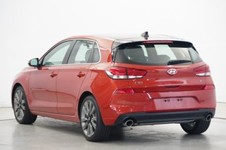 2017 Hyundai i30 PD MY18 SR D-CT Premium Phoenix Orange 7 Speed Sports Automatic Dual Clutch