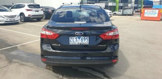 2012 Ford Focus LW MkII Trend PwrShift Black 6 Speed Sports Automatic Dual Clutch Hatchback