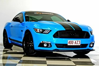 2017 Ford Mustang FM MY17 Fastback GT 5.0 V8 Blue 6 Speed Automatic Coupe.