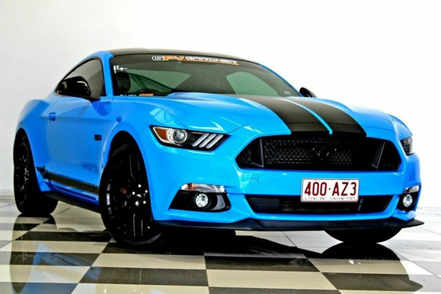 Used Ford Mustang FM MY17 Fastback GT 5.0 V8 Burleigh Heads, 2017 Ford Mustang FM MY17 Fastback GT 5.0 V8 Blue 6 Speed Automatic Coupe