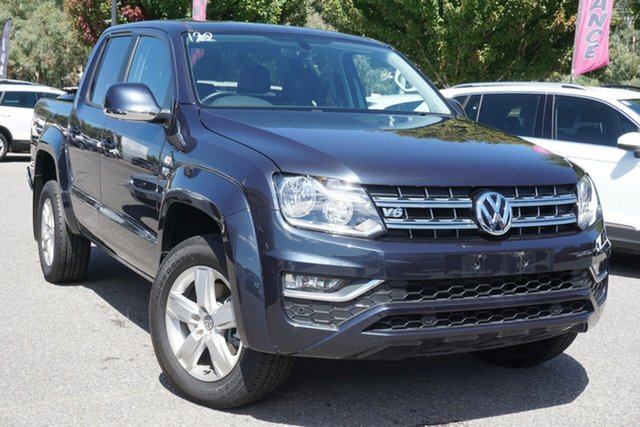 Used Volkswagen Amarok 2H MY19 TDI550 4MOTION Perm Sportline Phillip, 2019 Volkswagen Amarok 2H MY19 TDI550 4MOTION Perm Sportline Blue 8 Speed Automatic Utility