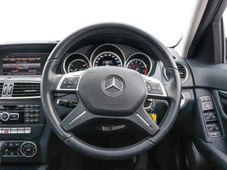 2014 Mercedes-Benz C200 W204 MY14 Tenorite Grey 7 Speed Automatic G-Tronic Sedan