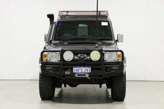 2014 Toyota Landcruiser VDJ76R MY12 Update GXL (4x4) Grey 5 Speed Manual Wagon.