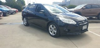 2012 Ford Focus LW MkII Trend PwrShift Black 6 Speed Sports Automatic Dual Clutch Hatchback.
