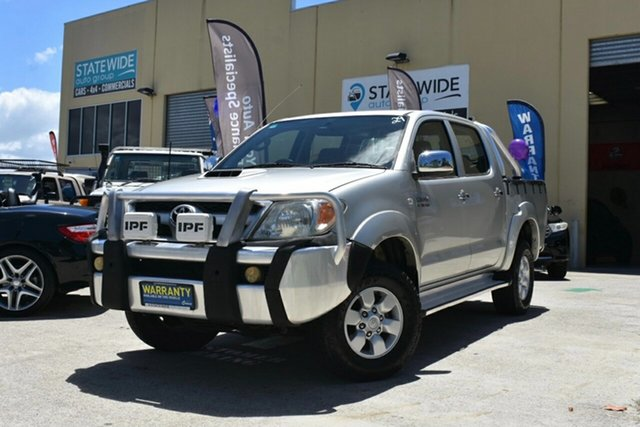 Used Toyota Hilux KUN26R SR5 (4x4) Capalaba, 2005 Toyota Hilux KUN26R SR5 (4x4) Silver 5 Speed Manual Dual Cab Pick-up