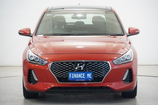 2017 Hyundai i30 PD MY18 SR D-CT Premium Phoenix Orange 7 Speed Sports Automatic Dual Clutch.