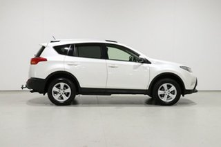 2013 Toyota RAV4 ZSA42R GXL (2WD) White Continuous Variable Wagon