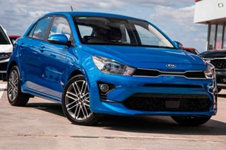 2020 Kia Rio YB MY21 Sport Blue 6 Speed Automatic Hatchback.