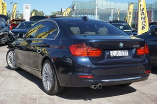 2012 BMW 3 Series F30 328i Blue 8 Speed Sports Automatic Sedan