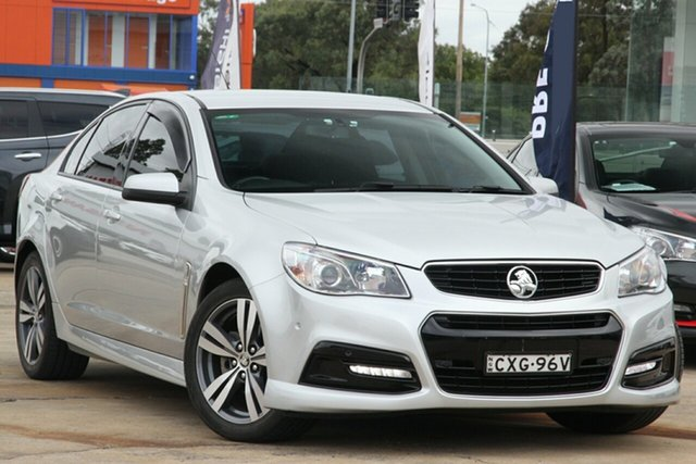 Used Holden Commodore VF II SV6 Chullora, 2016 Holden Commodore VF II SV6 Silver 6 Speed Automatic Sedan