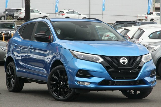 New Nissan Qashqai J11 Series 3 MY20 Midnight Edition X-tronic Morphett Vale, 2020 Nissan Qashqai J11 Series 3 MY20 Midnight Edition X-tronic Vivid Blue 1 Speed Constant Variable