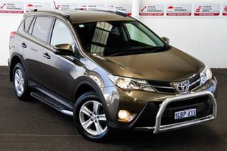 2013 Toyota RAV4 ZSA42R GXL 2WD Liquid Bronze 7 Speed Constant Variable Wagon.