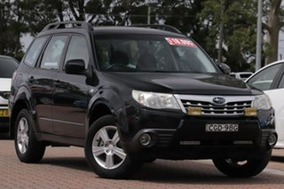 2012 Subaru Forester S3 MY12 X AWD Black 4 Speed Sports Automatic SUV.