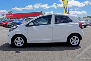 2017 Kia Picanto JA MY18 S White 5 Speed Manual Hatchback