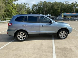 2008 Hyundai Santa Fe CM MY07 Upgrade Elite CRDi (4x4) Blue 5 Speed Automatic Wagon.