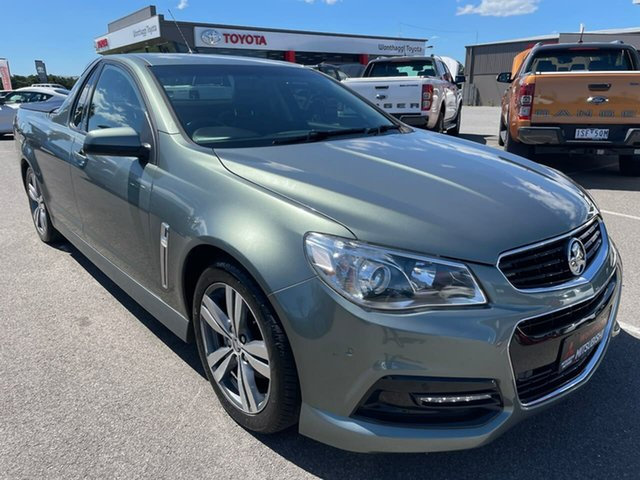 Used Holden Ute VF MY14 SV6 Ute Wonthaggi, 2013 Holden Ute VF MY14 SV6 Ute Grey 6 Speed Manual Utility