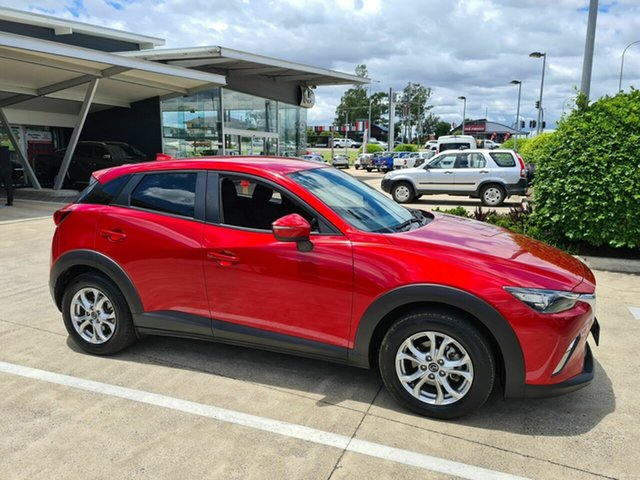 Used Mazda CX-3 DK2W7A Maxx SKYACTIV-Drive Yamanto, 2016 Mazda CX-3 DK2W7A Maxx SKYACTIV-Drive Red 6 Speed Sports Automatic Wagon