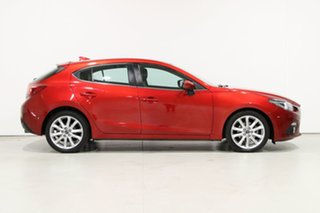 2016 Mazda 3 BM MY15 SP25 GT Soul Red 6 Speed Automatic Hatchback