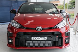 2020 Toyota Yaris GR Gxpa16R GR Feverish Red 6 Speed Manual Hatchback