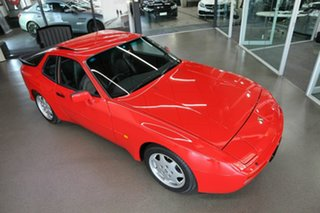 1989 Porsche 944 MY90 S2 Red 5 Speed Manual Coupe
