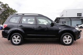 2012 Subaru Forester S3 MY12 X AWD Black 4 Speed Sports Automatic SUV