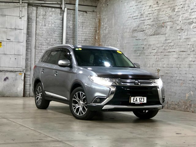 Used Mitsubishi Outlander ZK MY16 LS 4WD Mile End South, 2015 Mitsubishi Outlander ZK MY16 LS 4WD Grey 6 Speed Constant Variable Wagon