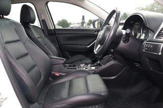 2016 Mazda CX-5 KE1032 Grand Touring SKYACTIV-Drive AWD White 6 Speed Sports Automatic SUV