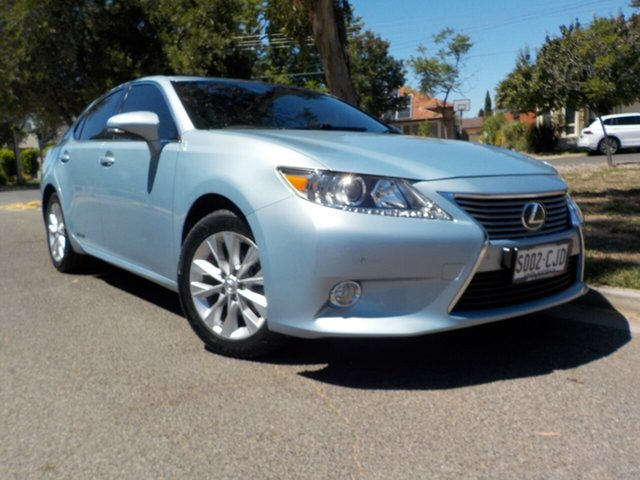 Used Lexus ES AVV60R ES300h Luxury Broadview, 2013 Lexus ES AVV60R ES300h Luxury Sky Blue 1 Speed Constant Variable Sedan Hybrid